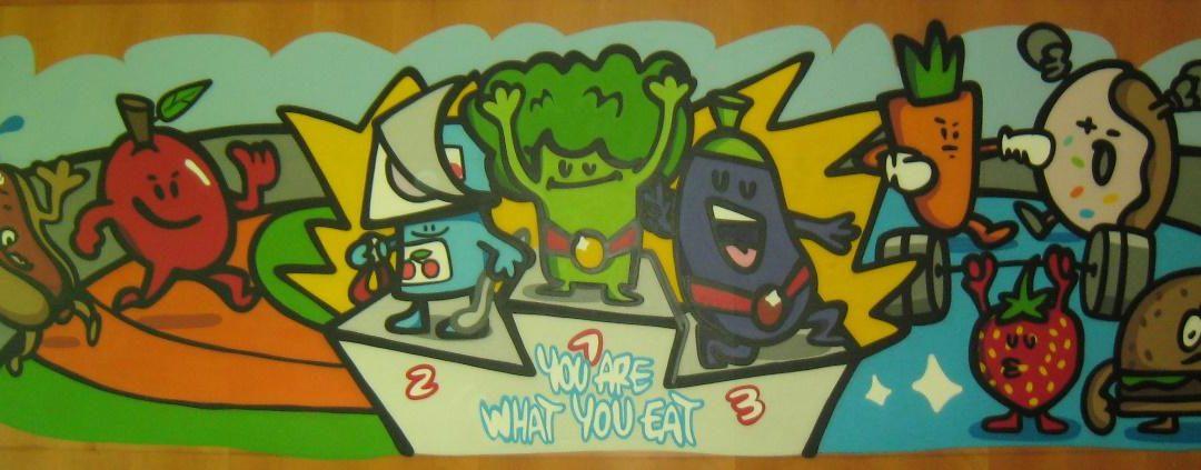 GRAFFITIS et santé alimentaire