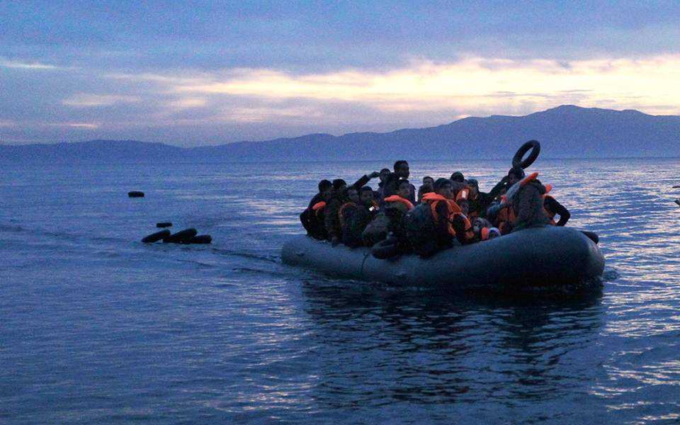 The suffocation of refugees in the north Aegean sea